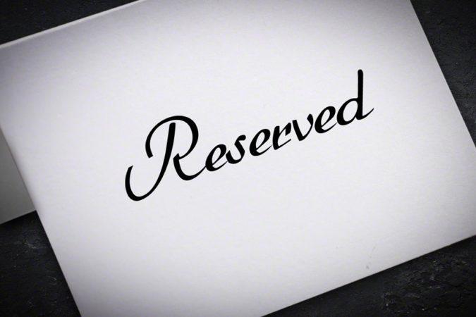 Restaurant Argonautes livraison à domicile - Reserved table